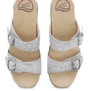 Dansko sophie sandals iridescent